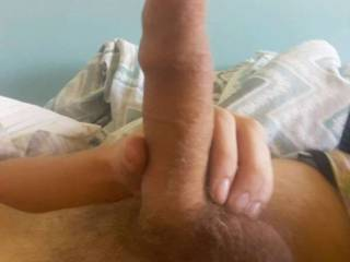 A pic of my dick when soft excuse the fuzz lol