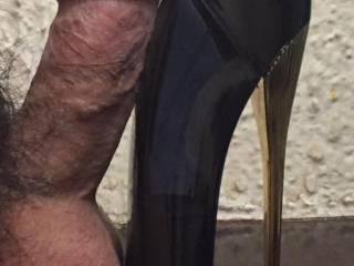 Hubby's cock shot