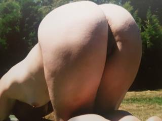 Loves cock in her arse...