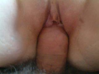 Wow I loved it - hubby has a nice uncut cock and then his head is pushed though his foreskin and rubbing your pussy lips and clit  Lovey vid