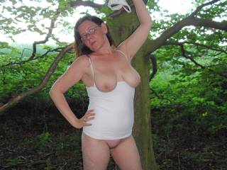 mmmm, looking hot and sexy as usual hunni.xxxxx  you can cum and drape your wet undies on me anytime.xxx   You look incredible in white...xxx