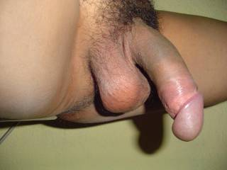 I'd enjoy playing with and licking your balls while I was jacking you off and sucking on that soft delicious looking cock...  Do you like having your cockhead sucked  while having your balls played with?  K