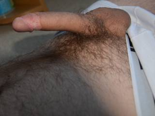 I would love to lick your sexy looking cock and rub our cocks together untill we cum