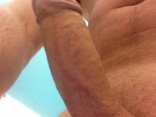 another close up of me horny in the bath watching girls mutual mastabation .Would love to wank in front of two girls , fancy it girls?