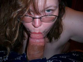 I would love to see you staring at me like that while you take my cock in your mouth!
