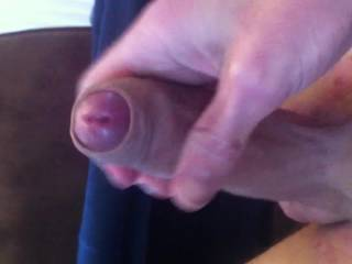 Great foreskin play and lovely cumshot