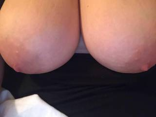 The ladys tits