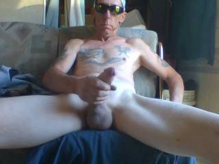 I love stroking my cock and Cumming!! Any ladies care to help?