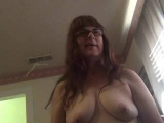 on cam showing off my tits and getting a load o jizz,I LOVE IT...…..do u?