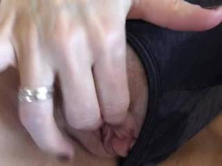 Wife's girlfriend after exploding with two fingers in Her ass isn't done.....