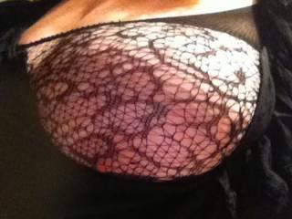 a flash of my big boob