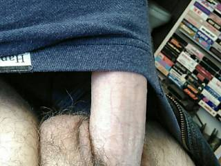 Theres nothing sexier than watching the hard cock of my Dom/sub, spring forth from his boxer briefs, do u agree?