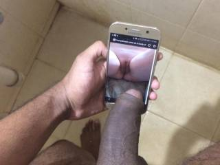 A bbc gift for horny2much white tight pussy, im gonna enjoy this fuck.