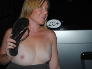 Hubby made me a ZG+ sticker to put on my truck so I can show off in public. What do you think? Think anyone at work will notice it? Wonder if my boss knows what ZG+ means?