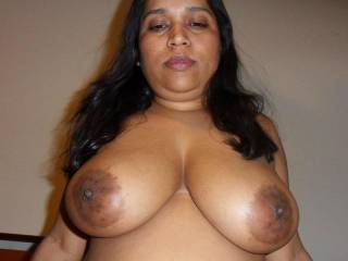 I Love your Full Breast and LARGE Aerola's. I would Love to Kiss, Lick and Suck on them... YUMMY...  Love and Kisses, Maryann