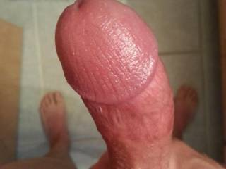 Really HUGE!!! Stretch my wet pussy and fill the bottom of my hot tunnel with your cum...