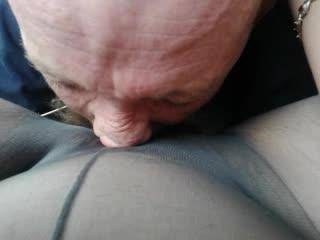 That was beautiful I love hearing your moans of pleasure. ! ! !   Lucky guy !