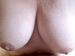 mmm, nice girls you have here. Would love to feel them pressed against my face as you bounce your soft milky white ass on my hard throbbing cock