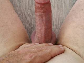 Thinking about a sexy lady friend, mmmm. got my cock so hard