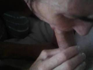 Wife wanted to suck my cock as we have been fucking a lot and she hadn\'t tasted my cum in a few days. Who am I to complain!