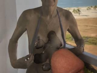 I really love how much my favorite cum slut enjoys me erupting on her😈