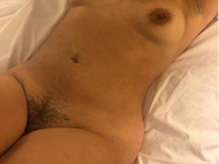 Just sharing my lovely GF body after a great fuck