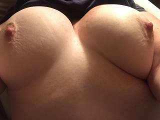 My bouncy tits are ready to play!