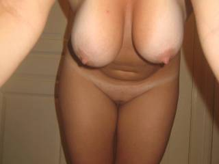 Those warm sexy tits would feel good around my balls. I want to cum between them.