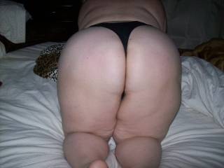 Playmate showing me her phat ass