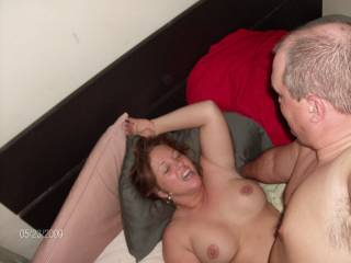 Can I take his place as soon as he unloads and fuck her some more, sure she would like to be pounded more!!!