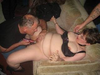 getting used in the porno theater...what would make her do next