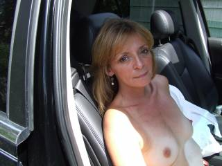 wow fantastic tits u should show them in public more!! great hard nipples