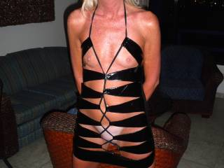 Great dress..Easier for me to devour your beautiful body!!! Damn would love to watch you suck and ride my cock till I explode all over your face..