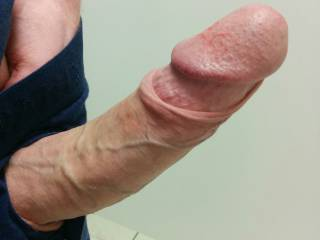 I would love to suck on your cock head tell you cum .would you like that ?