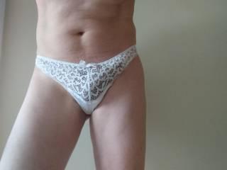 White panties..