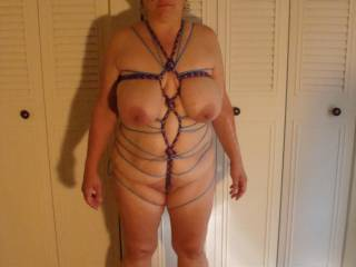 Yeah that the one! full body shot all tied up and hot as!