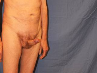 Once you have my foreskin rolled back I am eager for us to start. Where would you me like to aim my erection first?