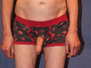 Now all i have to do is slip \'Him\' back inside these undies.