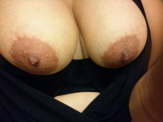 Wife\'s tits. What do you all think?