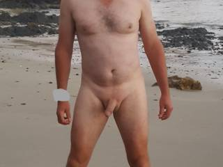 Just enjoying being nude on the beach. Anyone  like to cum join me ?