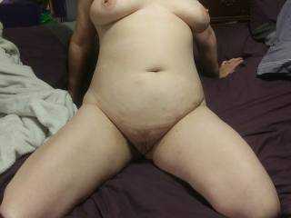Kitten showing off her hot body and awesome curves again. Suggestions for her next photo?