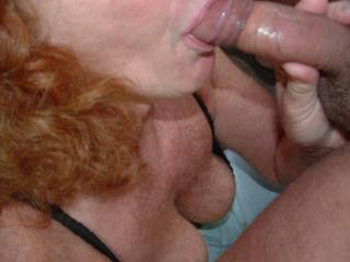 luv your lips just wish it was my cock you are a lucky guy