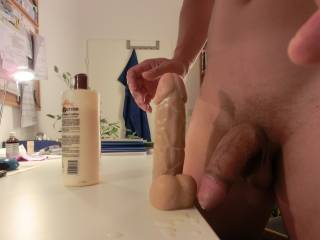 Wow id like to see you stroking with that in your ass!