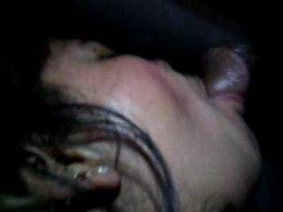 if you are like me, you want to lick your wife's pussy after it is filled with his cum, and share the mouthfull she got through the glory hole too