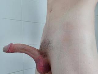 Tell me where this hard curved cock would slide into nicely?