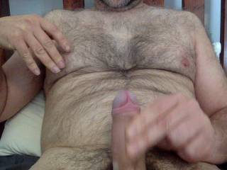jerking. need an extra hand or mouth, or three ;-)