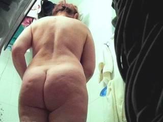 Wife fat ass