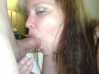 god I love how she sucks my thick hard cock