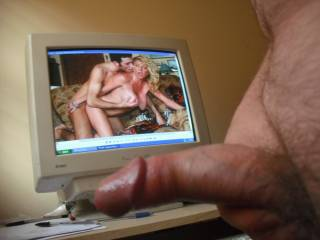 Wanking while watching a hot horny porn film and dedicated to my likewise hot and horny ZOIG friend Voltage 3001 xxxxxxx