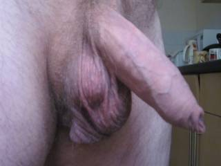 What do you like best, my uncut prick or my big cum-filled balls????